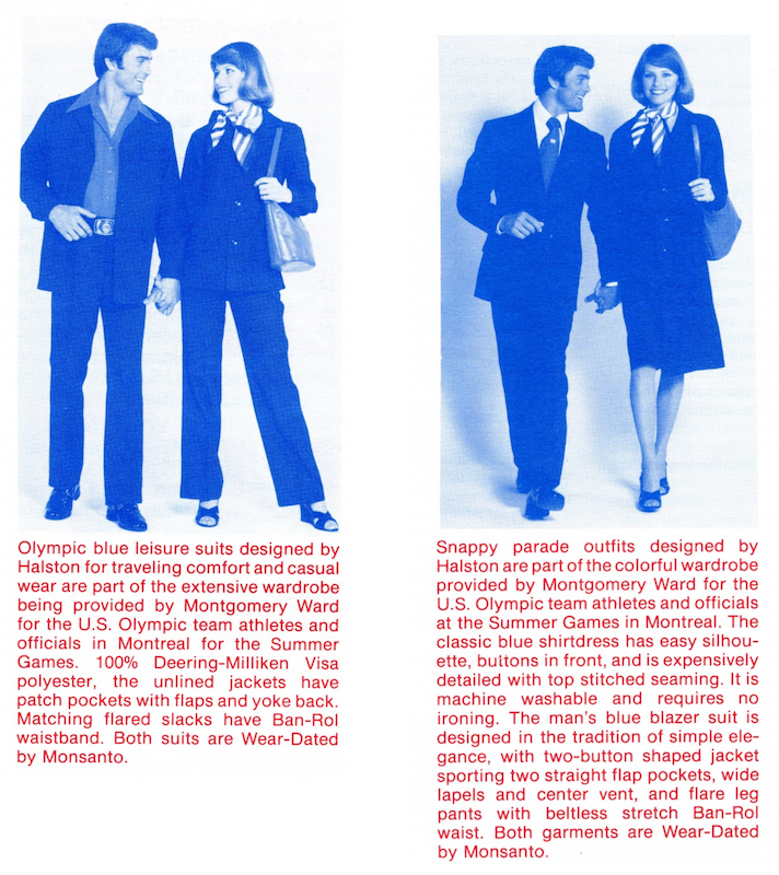 Detailed descriptions of the Montgomery Ward uniforms.