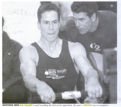 In 2000, Rob Waddell (NZ) set a new World Record of 5:39.5 for the 2,000m distance. He broke the record again in 2008 with a time of 5:36.6 that still stands today.