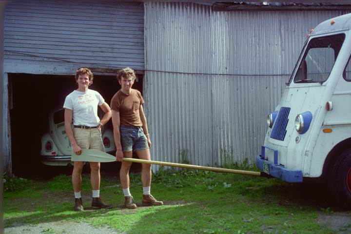 Peter and Dick crisscrossed the country in a repurposed bread truck, in search of a place to start their business.