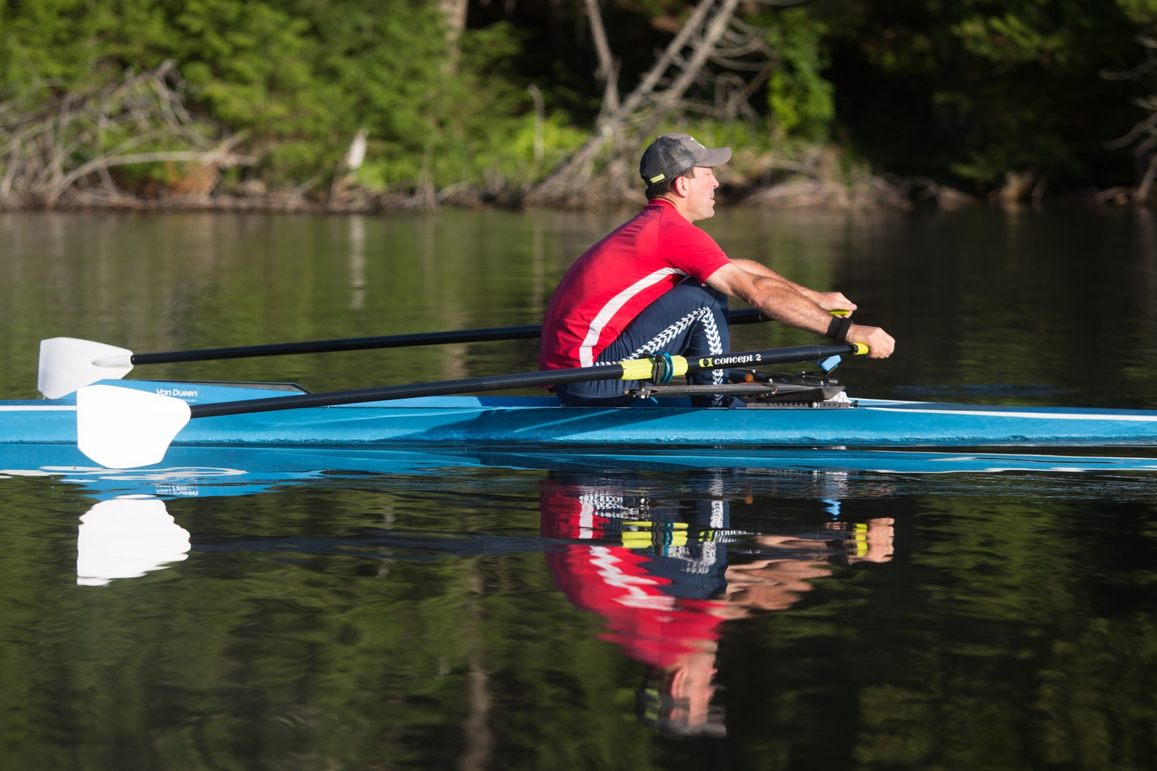 Concept2 launches the new Compact blade on the Bantam scull. The Bantam is a lower-priced scull with additional durability that maintains high performance.