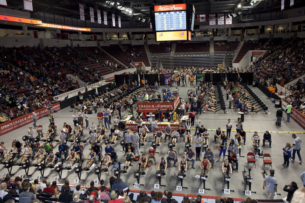 The event is now the World Indoor Rowing Championship with 2000 plus entries.